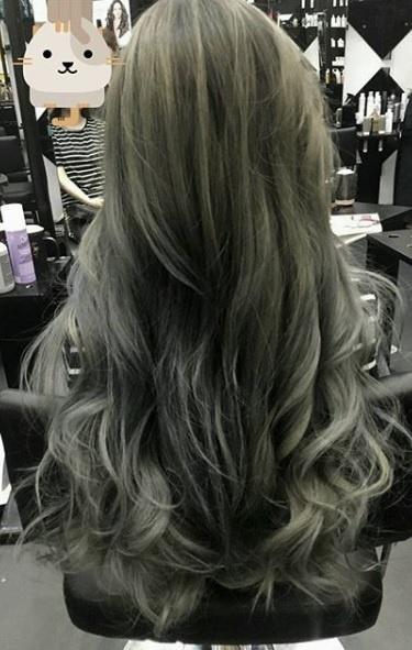 Smoke Color Hair,